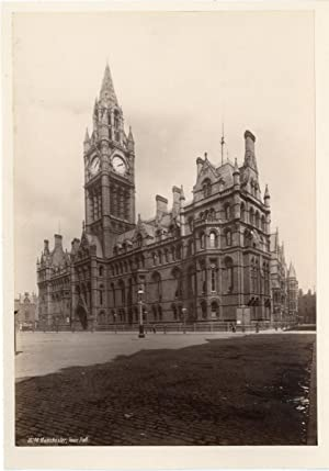Royaume-Uni, Manchester, Town Hall