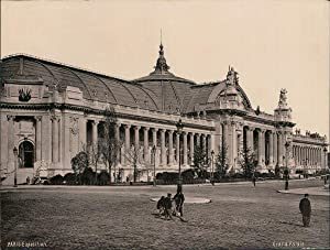 Paris. Exposition Universelle de 1900. Grand Palais