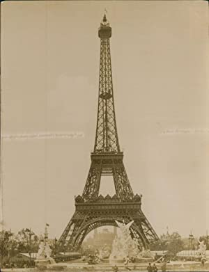 Paris, Exposition Universelle de 1900. La Tour Eiffel