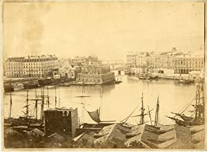 France, Bayonne, le port