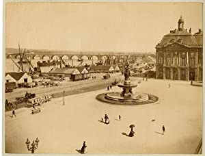 ND. France, Bordeaux, place de la bourse
