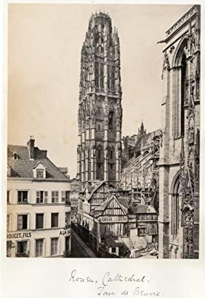 Frith Series. France. La Cathédrale de Rouen. La Tour de Beurre