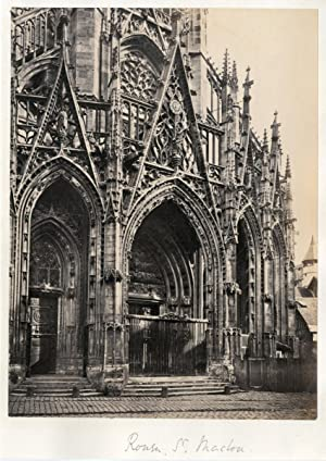 Frith Series. France. Rouen. St Maclou, ca. 1875