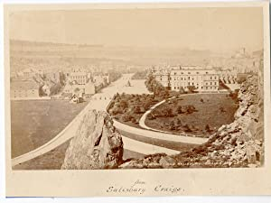 Ecosse, Edinburgh from Salisbury Craigs