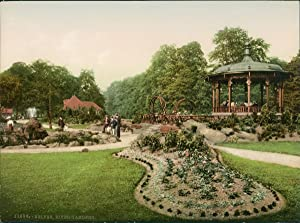 Derbyshire. Belper. River Gardens.