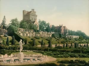 Perth. Drummond Castle from S. W.