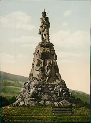 Perth. Aberfeldy. Black Watch Monument.