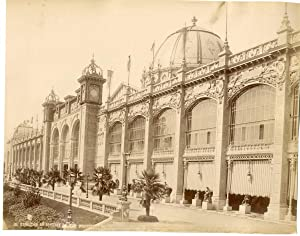 France, Paris, palais des beaux arts, exposition universelle
