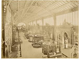 Paris, palais des machines, exposition universelle