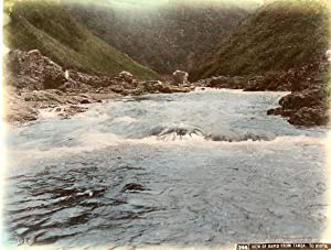 Japon, View of rapid from Tamba to kioto