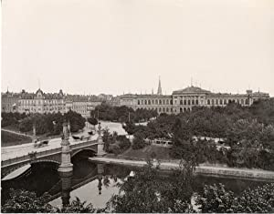 France, Strasbourg, Pont de l'Université