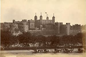 Stereoscopic. Angleterre, tower of London