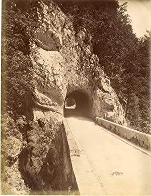 France, La Grande Chartreuse, Un Tunnel