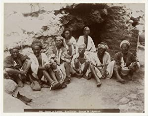 Group of Lepers. American Colony in Jerusalem