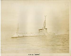 "British Royal Navy, Ship H.M.S. ""Osiris"", O-class: Photographie originale /"