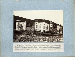 A. Rouget. France, Manevieux, Le Château: Photographie originale /