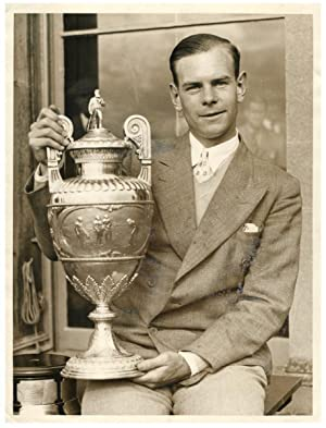 Great Britain, Hector Thomas, Winner of the British Amateur Golf Championship