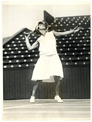 U.S.A., Los Angeles, Helen Wills Moody, famous American tennis player