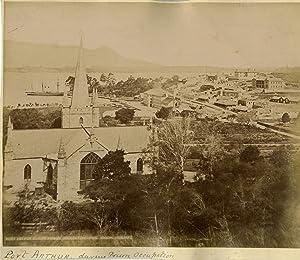 Hobart Anson, Port Arthur During Prison Occupation: Photographie originale /