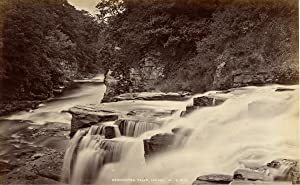 G.W.W., Great Britain, Scotland, Lanark. Bonnington Falls