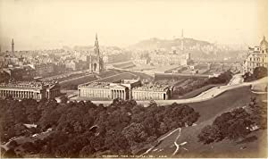 G.W.W., Great Britain, Scotland, Edinburgh. General view