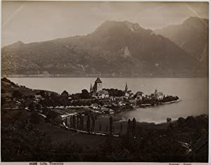 Sommer, Suisse, Spitz, Thunersee