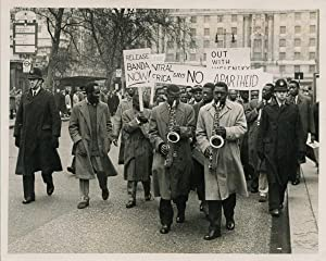 Manifestation anti-apartheid, 1960