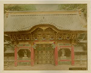 Japon, Jashamon Gate, Nikko