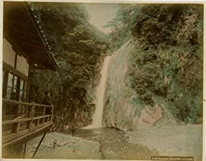 Japon, Nunobiki Waterfall at Kobe