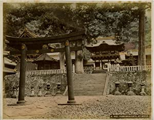 Japon, Yomeimon Gate at Nikko