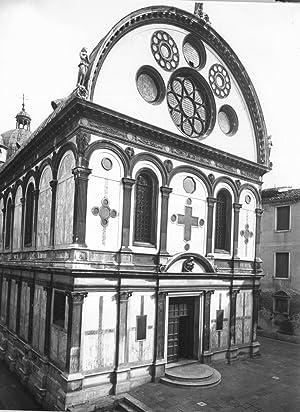 Italia, Venezia, Santa Maria dei Miracoli: Photographie originale /