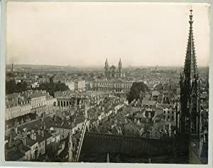 France, Nancy, vue panoramique de la ville, place Stanislas