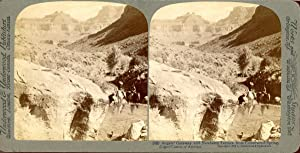 STEREO, Etats-unis, Angel's Gateway and Newberry terrace from Cottonwood spring
