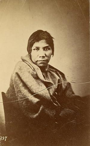 USA, Dakota Mdewakantonwan (American Indian Native/Amérindien).: Photographie originale /