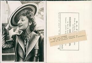 Paris, la mode aux Courses: Photographie originale /