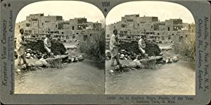 STEREO, Mexique, N. Mex., pueblo of taos indians