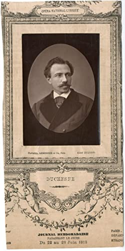 Lemercier, Paris, Artiste, Opéra-National-Lyrique, Adolphe Duchesne