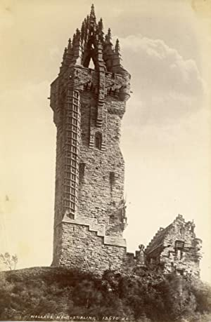 Ecosse, Stirling, monument William Wallace