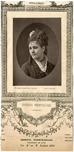 Lemercier, Paris, artiste, Opéra-Comique, Esther Chevalier