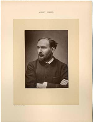 Gallot Charles, France, Albert Delpit, auteur dramatique (1849-1893)