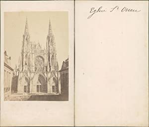 France, Rouen, Eglise Saint-Ouen