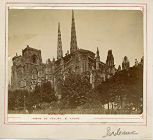 France, Bordeaux, abside de l'église Saint-André