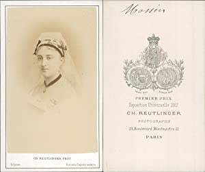 Reutlinger, Paris, Louise Massin, actrice