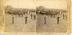 STEREO Russie, Krasnoe Selo, military Passing in Review Before Président Faure of France