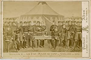 E. Appert, France, Napoléon III et son Etat Major au Camp de Chalons