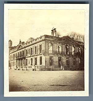 France, Paris, Aile droite de St Cloud