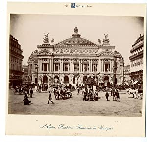 X. Phot. France, Paris, L'Opéra, Académie Nationale de Musique