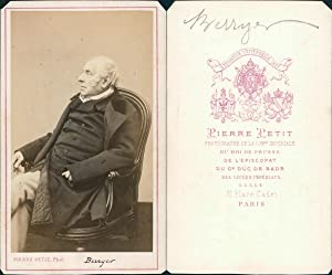 Pierre Petit, Paris, Berryer, avocat