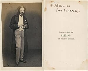 Bassano, Sothern, as Lord Dundreary, actor