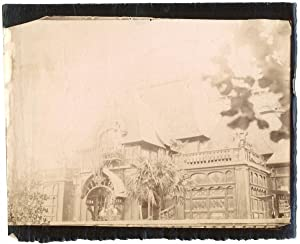 France, Paris, palais à identifier
